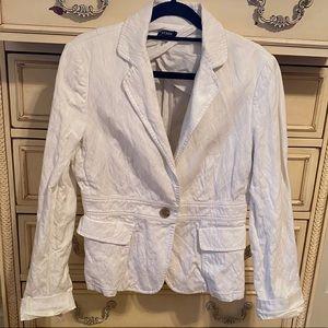 NEW J. Crew White Blazer Jacket
